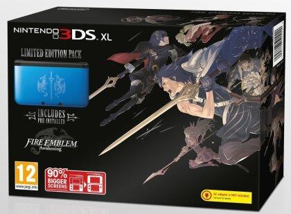 3DS Konsole XL blau + Fire Emblem (ohne Netzteil)