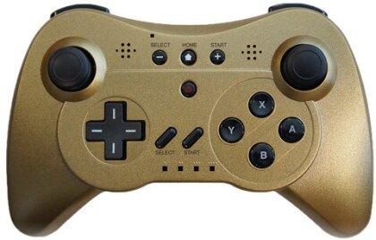 WiiU Controller Super Gold limited auch für Wii Steelplay