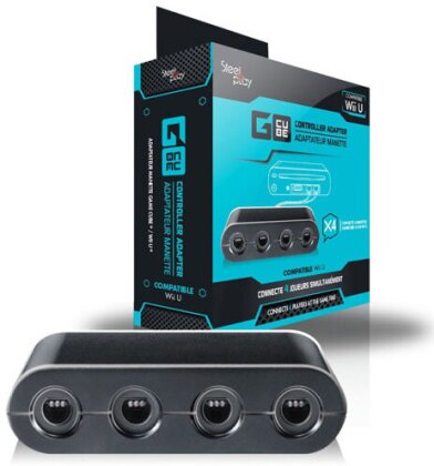 WiiU Gamecube Controller Adapter Steelplay