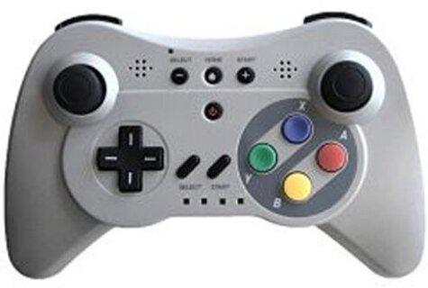 WiiU Controller Super Classic limited auch für Wii Steelplay