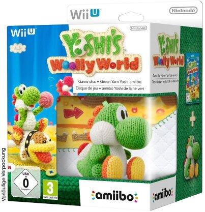 Yoshi's Woolly World + Amiibo Figur