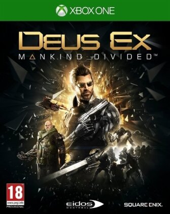 Deus Ex : Mankind Divided (Day One Edition)