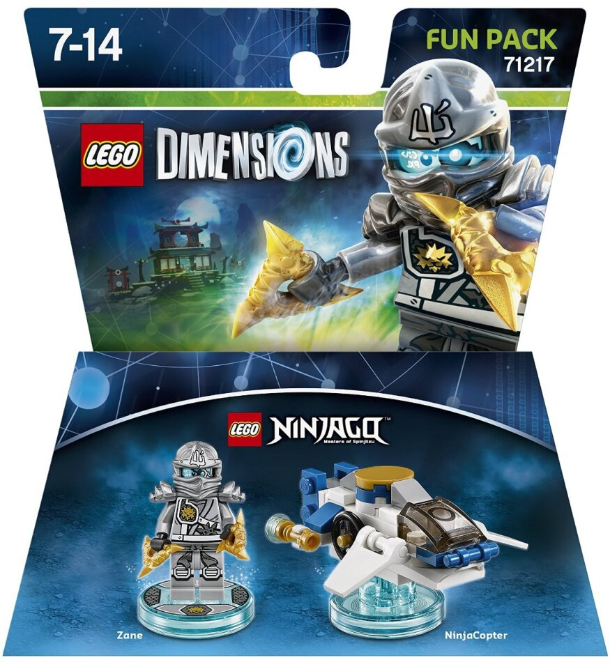 LEGO Dimensions Fun Pack Ninjago Zane