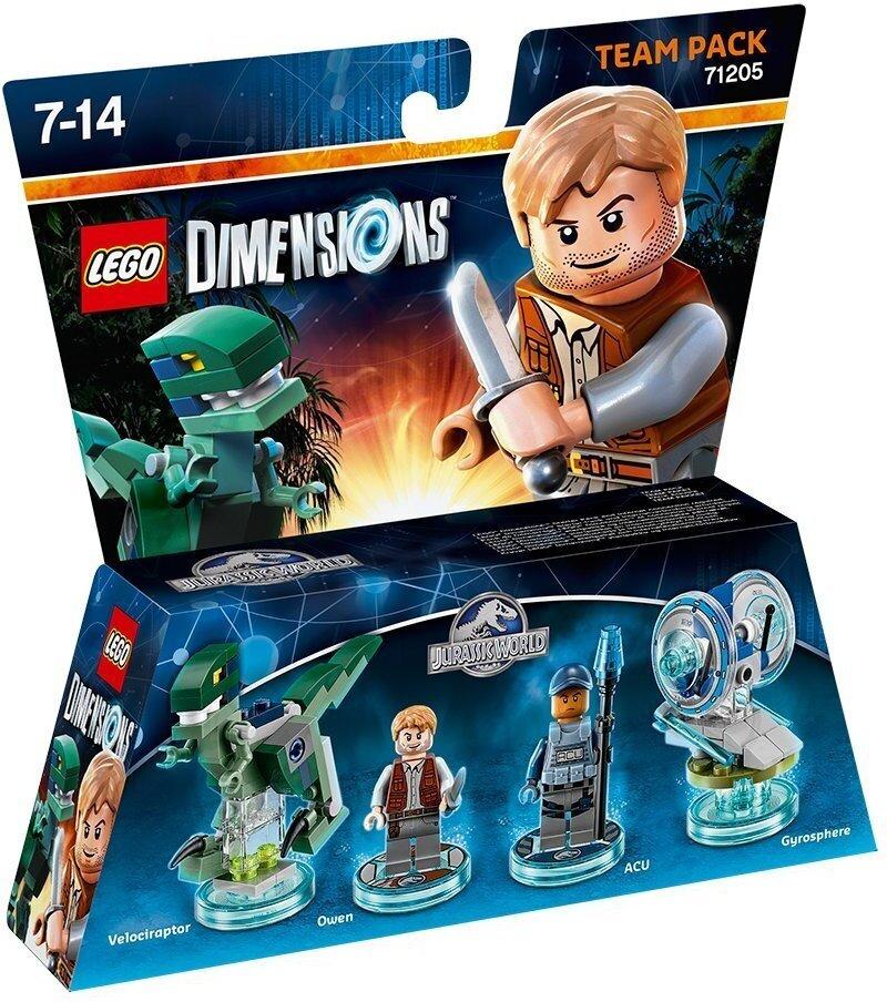 LEGO Dimensions Team Pack Jurassic World