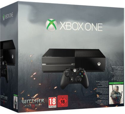 XBOX ONE 500GB + The Witcher 3 Wild Hunt (ohne KINECT)