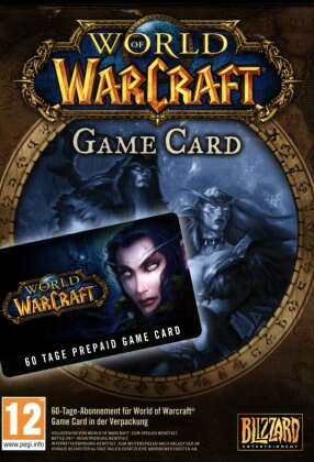 World of Warcraft PrePaid Game Card V2