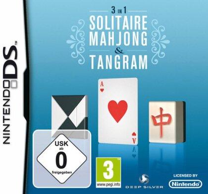 Solitaire, Mahjong & Tangram 3-in-1