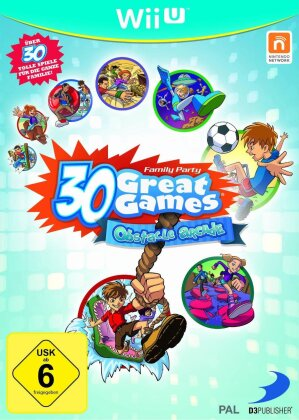 Family Party 30 Great Games - Obstacle Arcade PEGI