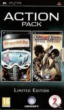 Shaun White Snowboarding + Prince of Persia Rival Swords