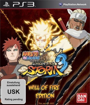 Naruto Shipuden: Ultimate Ninja Storm 3 - Will of Fire Edition