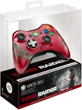 Xbox 360® Tomb Raider™ Wireless Controller (Limited Edition)