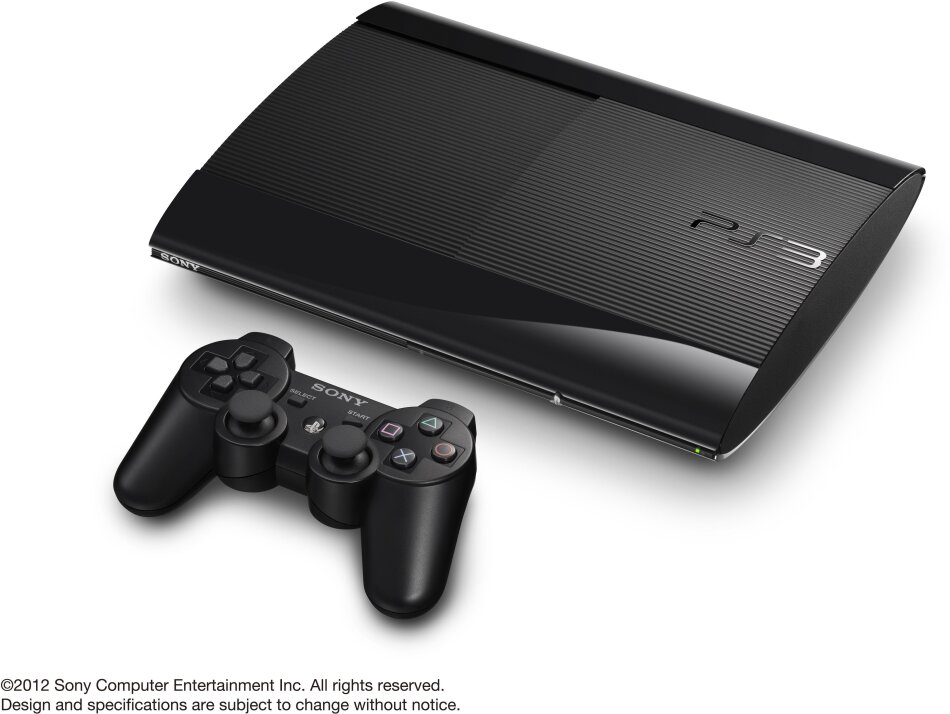 Sony Playstation 3 Console 12 GB Super Slim Black
