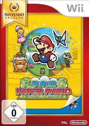 Wii Super Paper Mario Selects (PEGI)