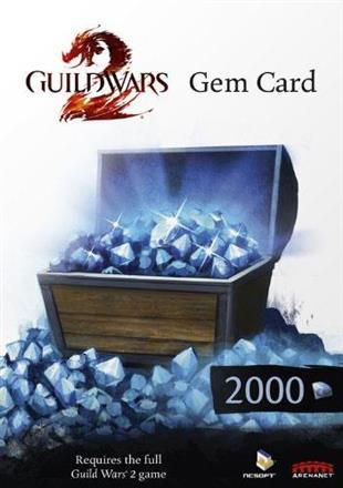Guild Wars 2 Gem Card - 2000 Gem
