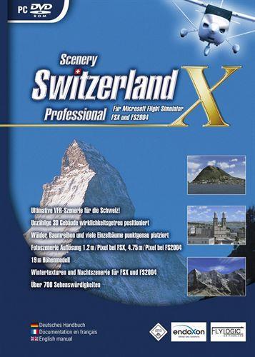 Switzerland Professional X FS2004/FSX [Add-On]