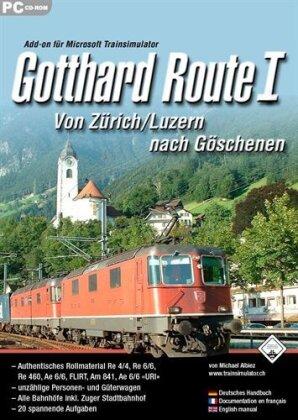 Train Sim: Gotthard Route 1 - Von Zürich/Luzern nach Göschenen [Add-On][PC] (D/F