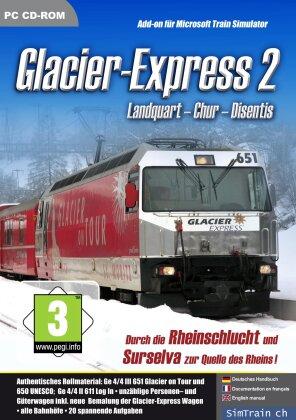 Glacier Express 2 Chur-Disentis AddOn for MS Train Simulator
