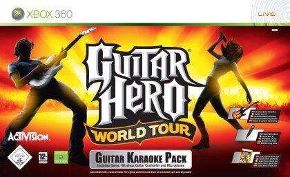 Guitar Hero World Tour Karaoke Bundle