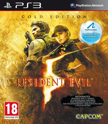 Resident Evil 5 (Gold Édition, Move Edition)