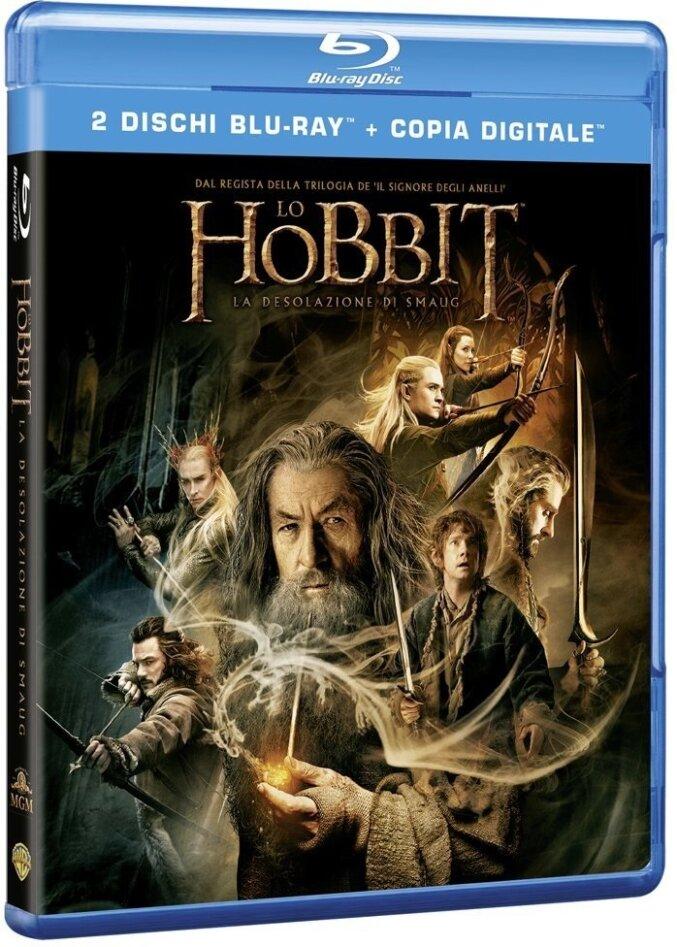 Lo Hobbit 2 - La desolazione di Smaug (2013) (2 Blu-rays)
