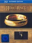 Der Herr der Ringe (Strictly Limited Edition mit Ring) - Trilogie (Extended Edition, 6 Blu-rays + 9 DVDs)