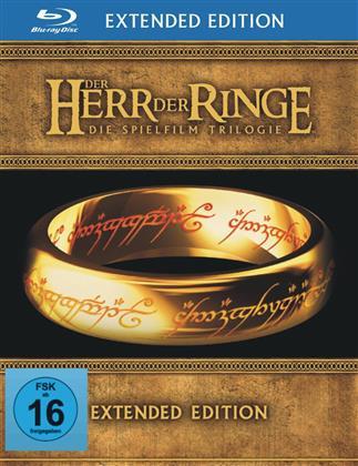 Der Herr der Ringe - Trilogie (Extended Edition, 6 Blu-rays + 9 DVDs)