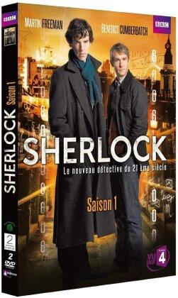 Sherlock - Saison 1 (BBC, 2 DVD)