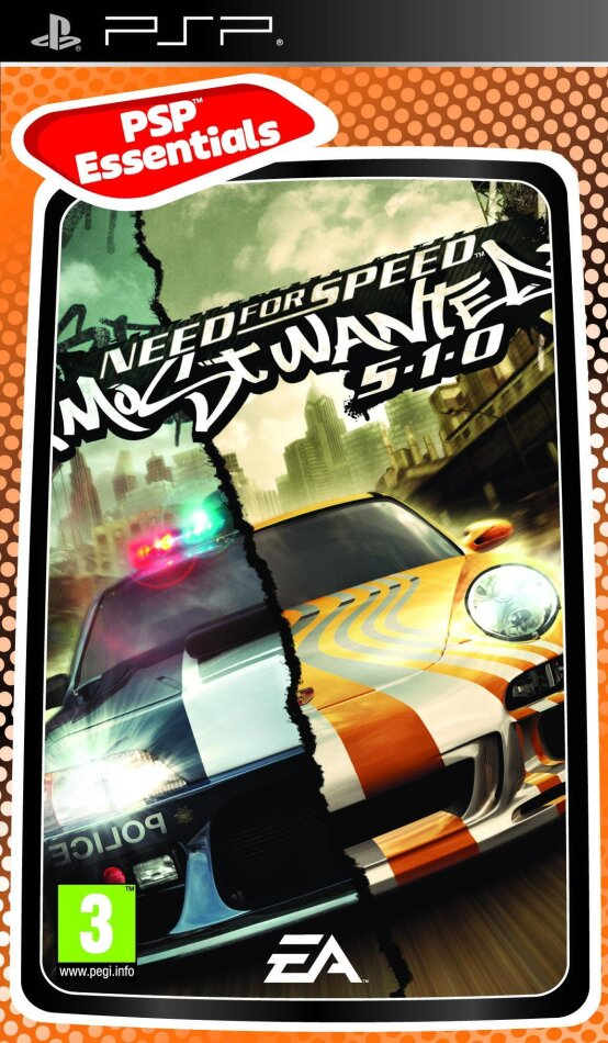 NEED FOR SPEED: MOST WANTED 5-1-0 Essentials