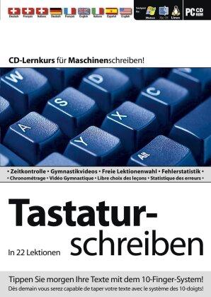 Tastaturschreiben in 22 Lektionen / Programme d'apprentissage du clavier en 22 lecons (PC)
