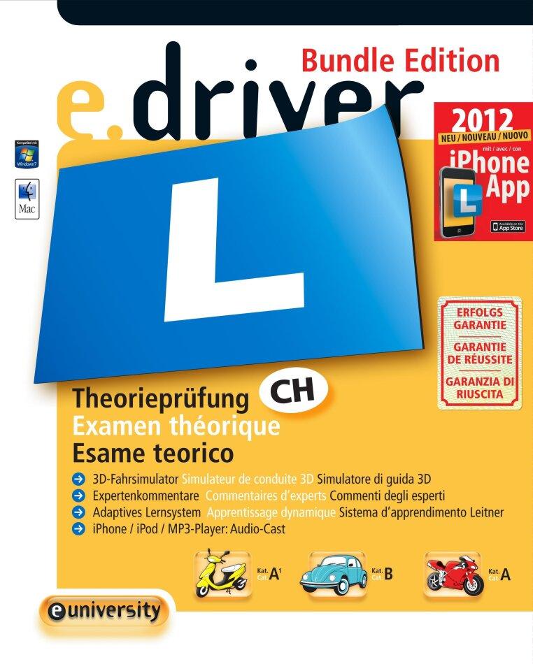 e.driver 2012 - Das Schweiz. Lernprogramm für die Theoriefahrprüfung