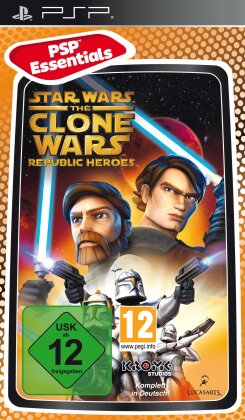 Star Wars Clone Wars Republic Heroes PSP Essentials