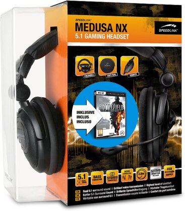Bundle Battlefield Bad Comp.2 Lim.Ed.+Speedlink Medusa NX 5.1 Gaming Headset