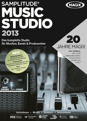 MAGIX Samplitude Music Studio 2013