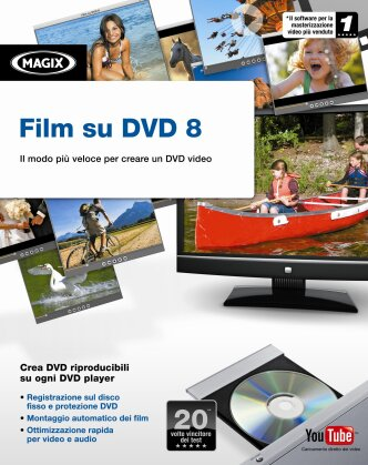 Magix Film su DVD 8