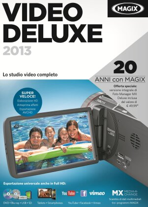 MAGIX Video deluxe 2013 Edizione celebrativa (20 anni MAGIX)