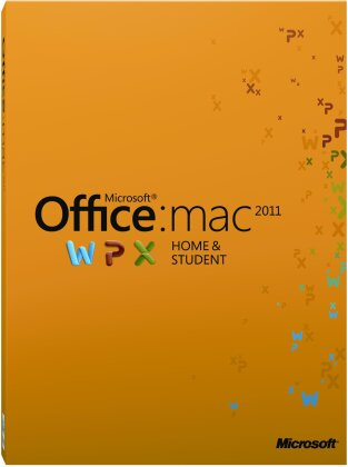 Microsoft Office Mac Home and Student 2011 1 User (PC)
