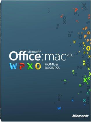 Microsoft Office Mac Home Business 2011 1 User