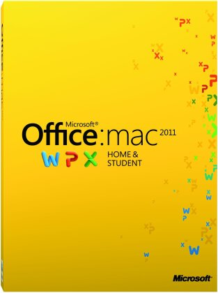 Microsoft Office Mac Home and Student 2011 1 User