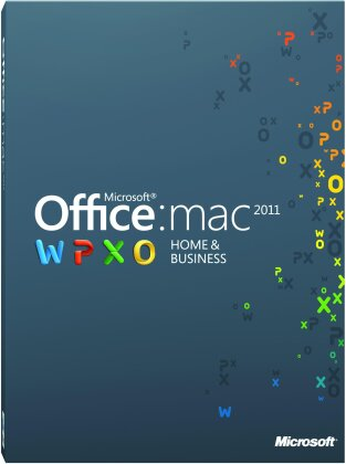 Microsoft Office Mac Home Business 2011 1 User