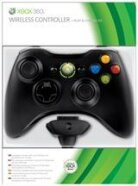 Xbox 360 Wireless Controller Black inkl. Play & Charge Kit
