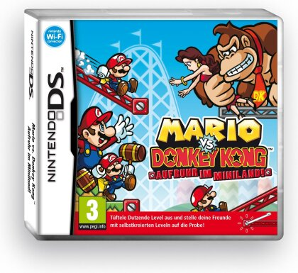 Mario vs. Donkey Kong: Aufruhr im Miniland