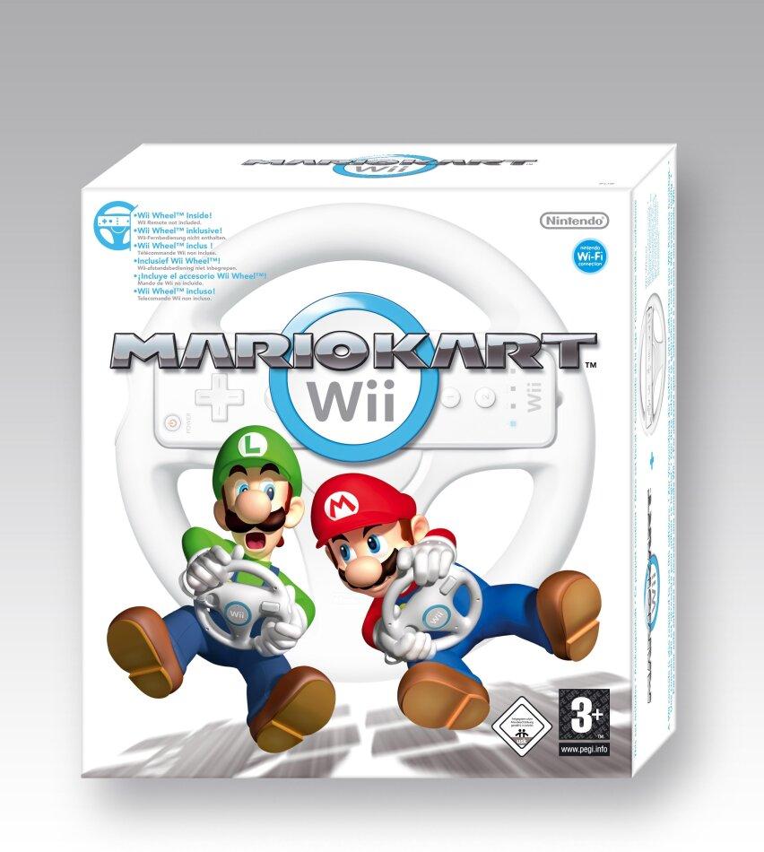 Mario Kart WII (inclusive Original Wii Wheel)