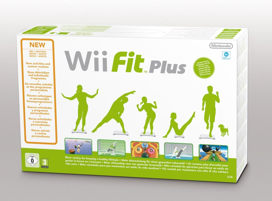 Wii Fit Plus (incl. Balance Board White)