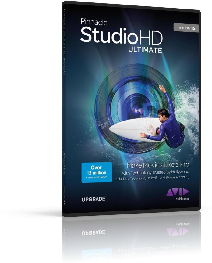 Pinnacle Studio 9+ to Ultimate 15 HD Upgrade