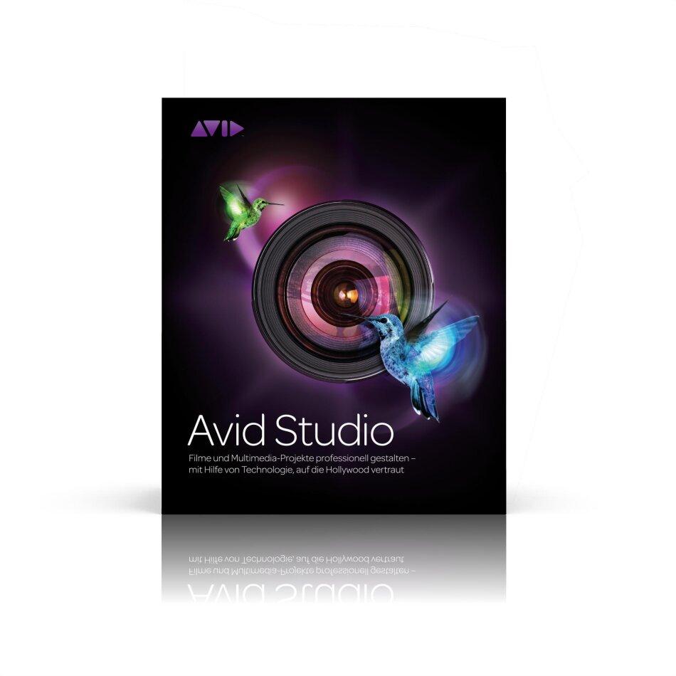 Avid Studio 1.0 Upgrade from Pinnacle Studio 14 or 15