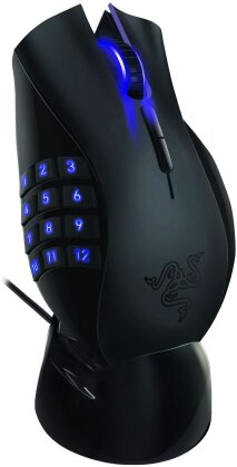 Razer Naga Epic - Wireless MMO Gaming Mouse - black