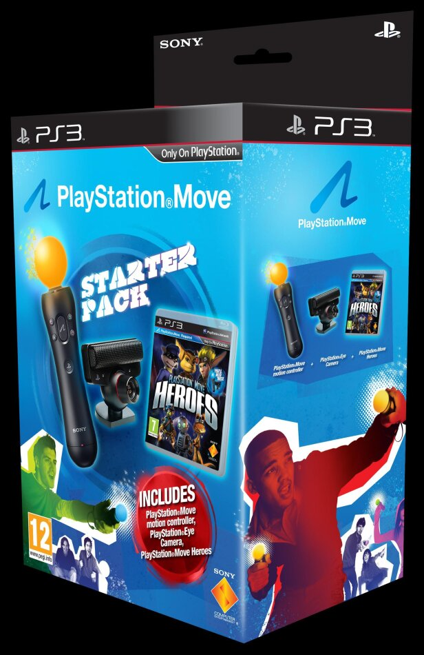 Playstation Move Heroes incl. Move Starter Pack (Move only)