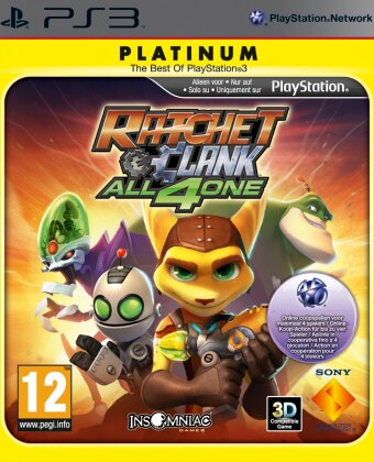 Ratchet & Clank All 4 One Platinum
