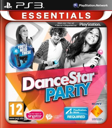 Dance Star Party Essentials (Move only)
