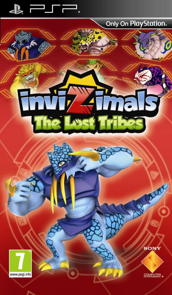 Invizimals: The Lost Tribe incl. Camera